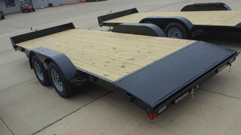 Rice 18' Car Hauler / Racing Trailer