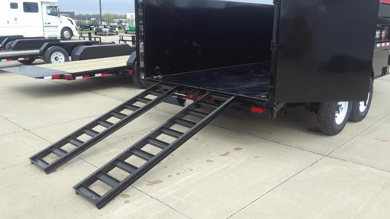 2020 PJ 16' Dump Trailer High Side