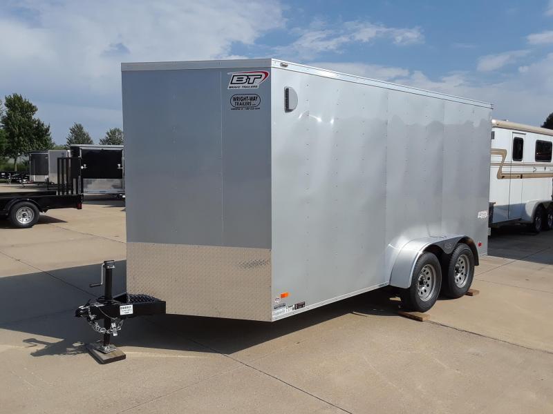 2019 Bravo 7X14 V-Nose Enclosed Cargo Trailer