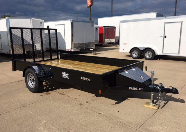 Rice Stealth 76 x 12 Single Axle Utility Trailer