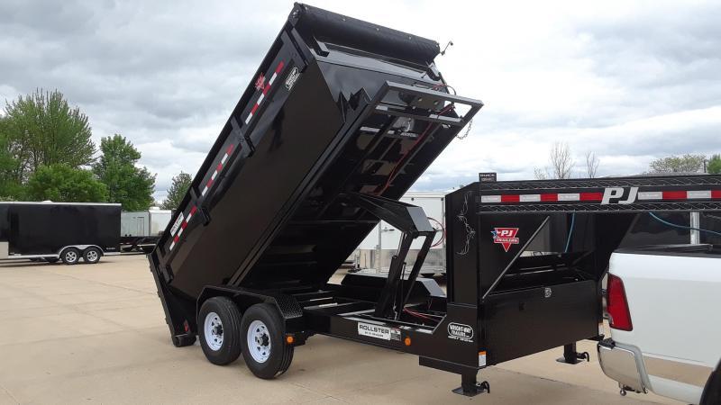 2020 PJ 14' Rollster Roll Off Dump Trailer