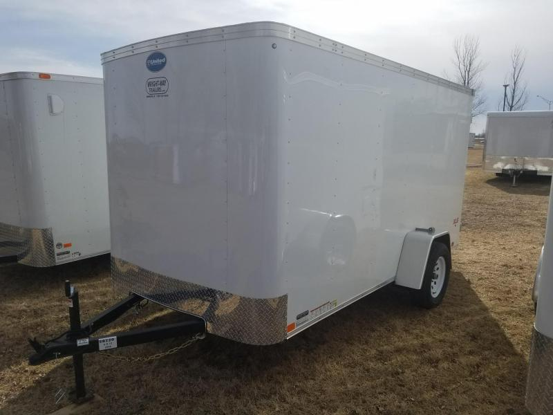 2018 United Trailers XLE 6X12 Enclosed Cargo Trailer