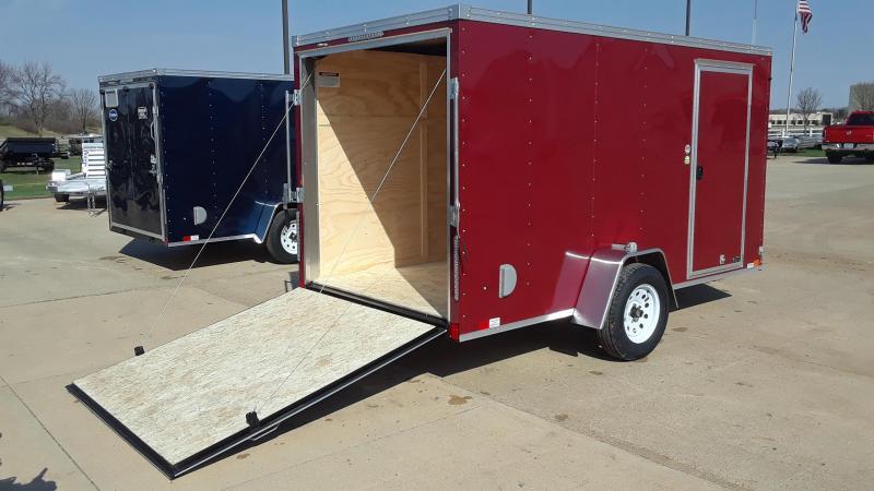 2019 United 6X12 Enclosed Cargo Trailer