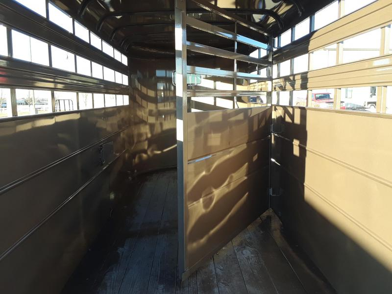 2019 Delta 16' Livestock Trailer