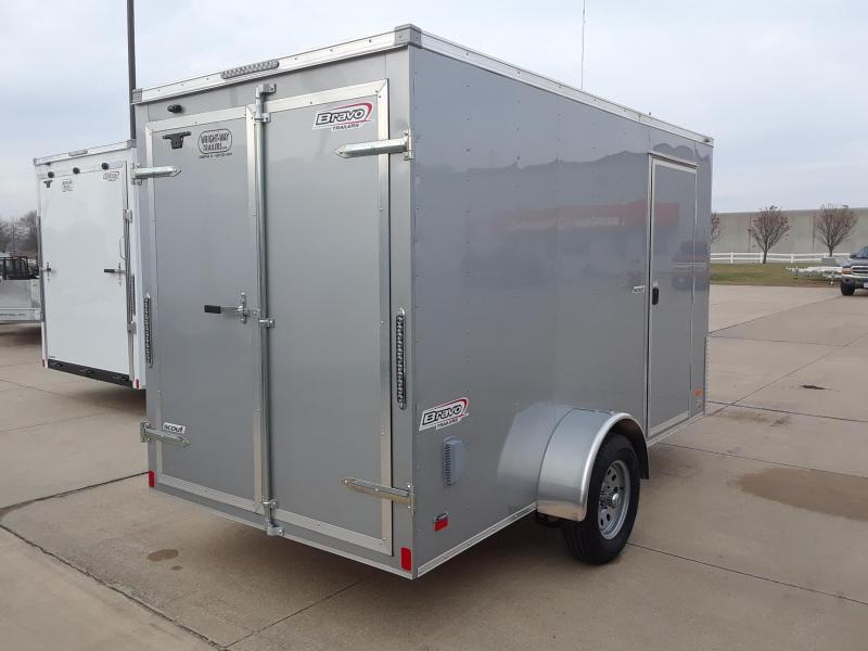 2019 Bravo 6X12 Enclosed Cargo Trailer
