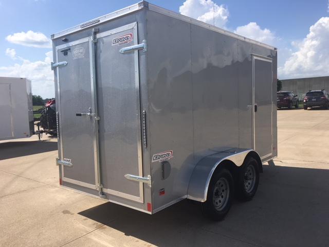 2019 Bravo 6 x 12 Tandem Axle Enclosed Cargo Trailer