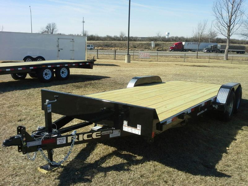 "RICE 6'10"" X 20 OPEN CAR HAULER"