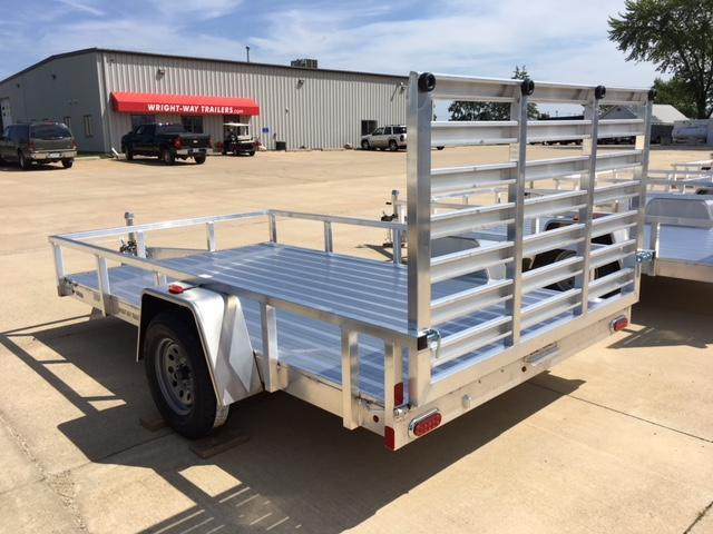 2019 ATC 7X12 Aluminum Utility Trailer