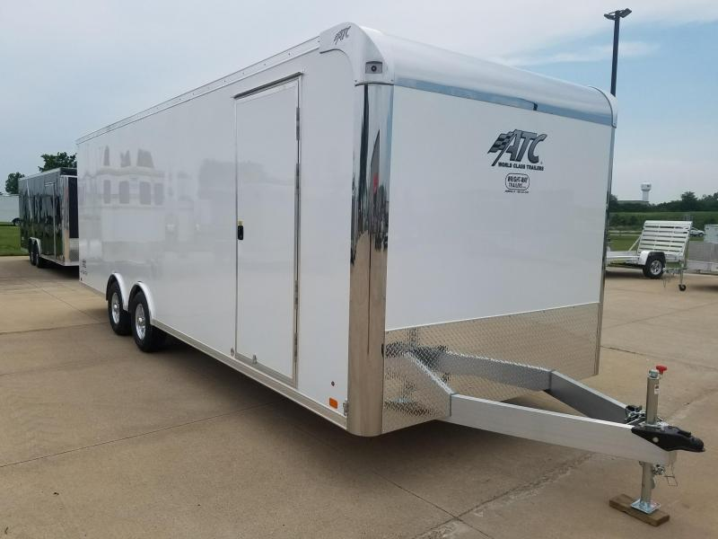 2019 ATC Raven 8.5x24 Aluminum Car / Racing Trailer
