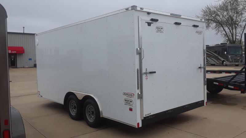 2020 Bravo 8.5X16 Enclosed Cargo Trailer