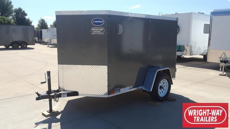 2020 United 5X8 Enclosed Cargo Trailer