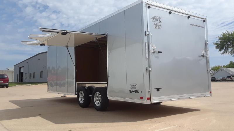 ATC 8.5X22 Escape Door Car / Racing Trailer Aluminum