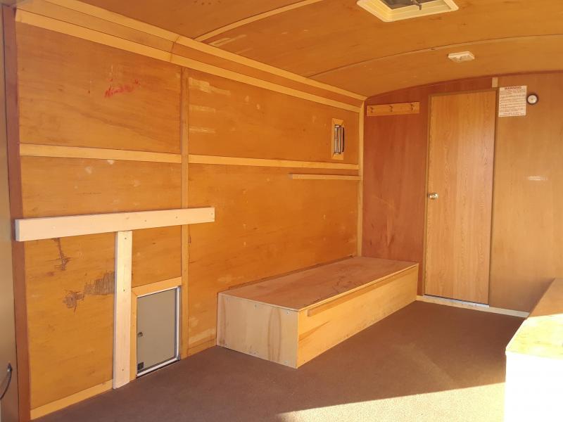 2003 Campmaster Toy Hauler 8x20 Enclosed Trailer