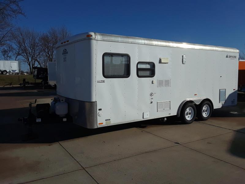 2003 Campmaster Toy Hauler 8x20 Enclosed Trailer