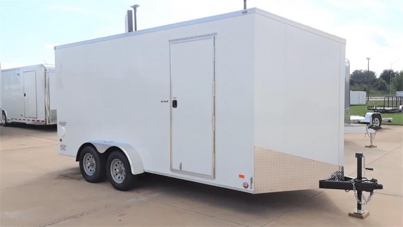 2020 Bravo 7X16 Enclosed Cargo Trailer
