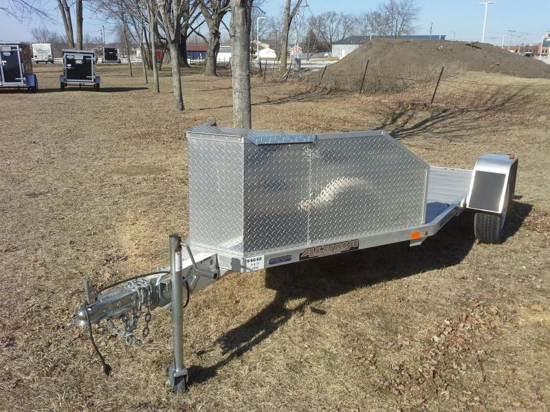 ALUMA TK-1 Motorcycle Trailer (USED)