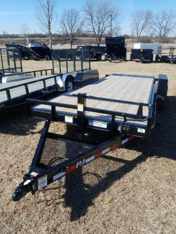 2018 PJ Trailers T6 Equipment Trailer