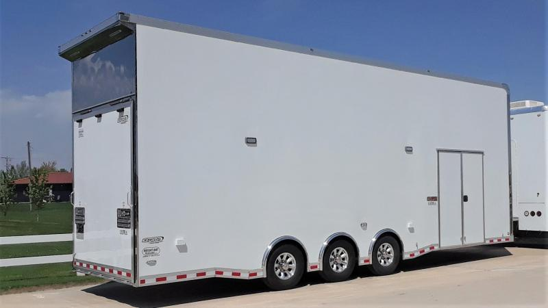 2020 Bravo 30' Stacker Car Racing Trailer