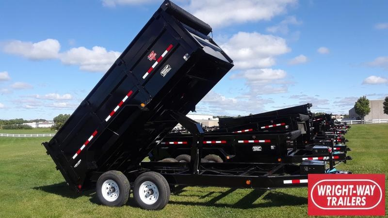 PJ 14' Dump Trailer High Side Low Profile