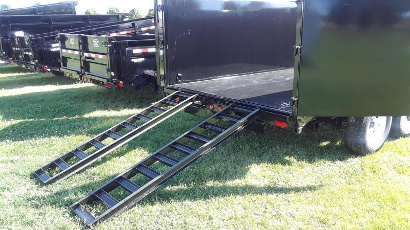 PJ 14' Dump Trailer High Side Low Profile
