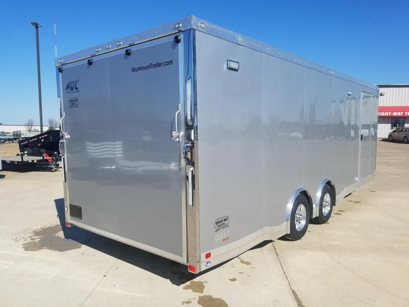 2018 ATC QUEST 8.5X24 Car / Racing Trailer