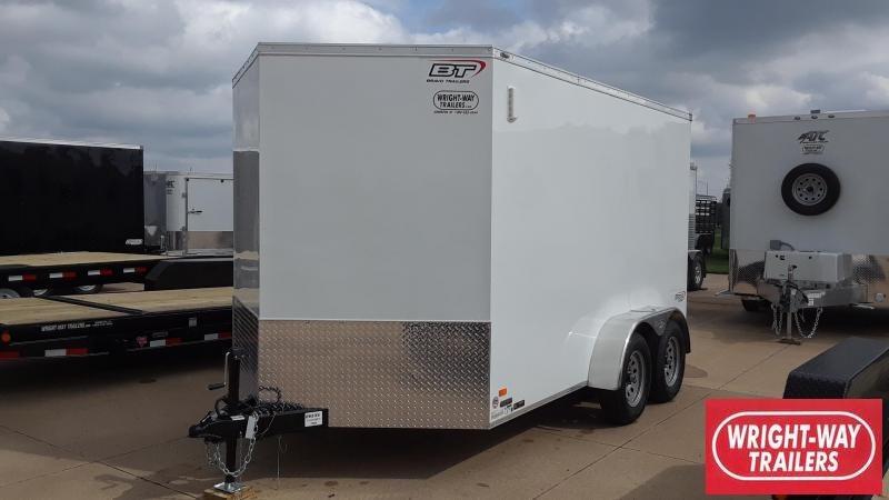 2020 Bravo 7X12 Enclosed Cargo Trailer