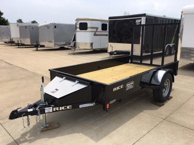 2018 Rice 5 x 10 Utility Trailer