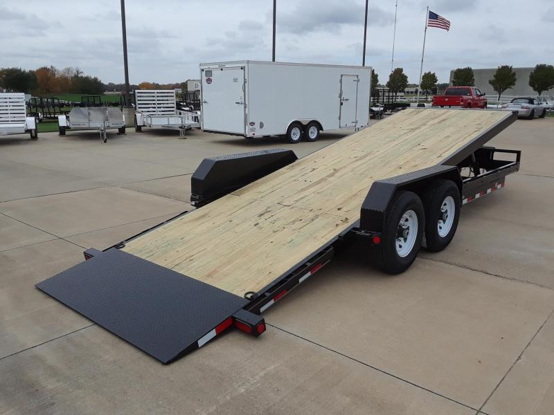 2019 PJ Trailers 22' Power Tilt Equipment Trailer