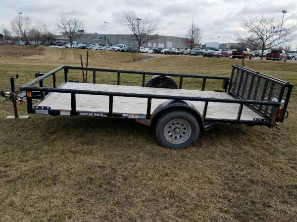 USED Road Clipper 6X12 Open Utility Trailer