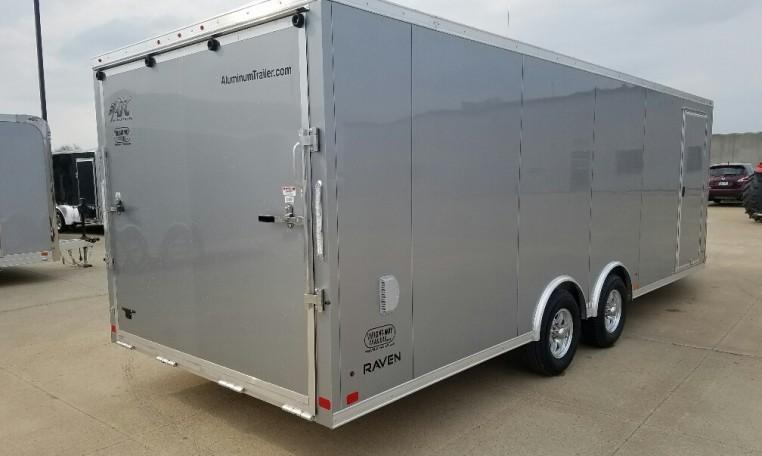 2018 ATC Raven 8.5X22' + 6' All Sport Snowmobile Trailer