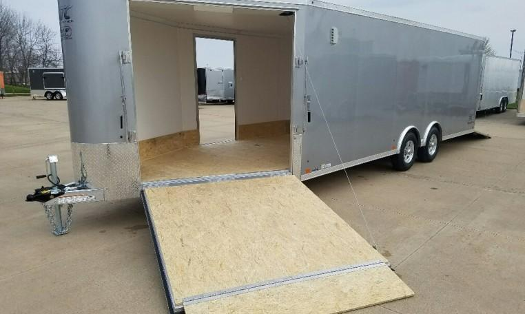 2018 ATC Raven 8.5 X 22' + 6' All Sport Snowmobile Trailer