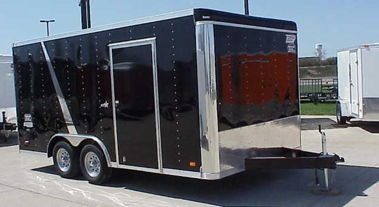 2017 Bravo Star 8.5X20 Enclosed Car Trailer