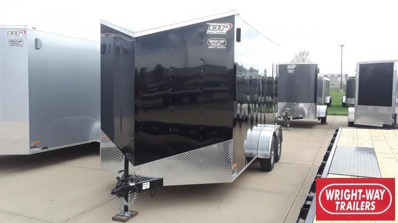 2020 Bravo 7X14 Enclosed Cargo Trailer