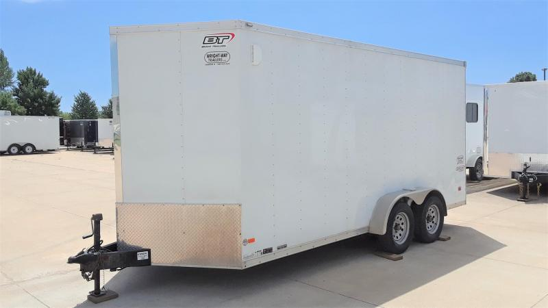 2016 Bravo 7X16 Enclosed Cargo Trailer in Ashburn, VA