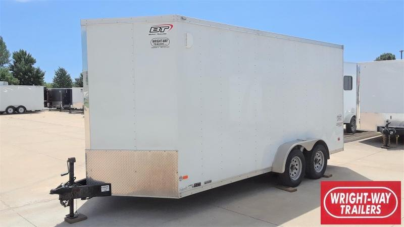 2016 Bravo 7X16 Enclosed Cargo Trailer