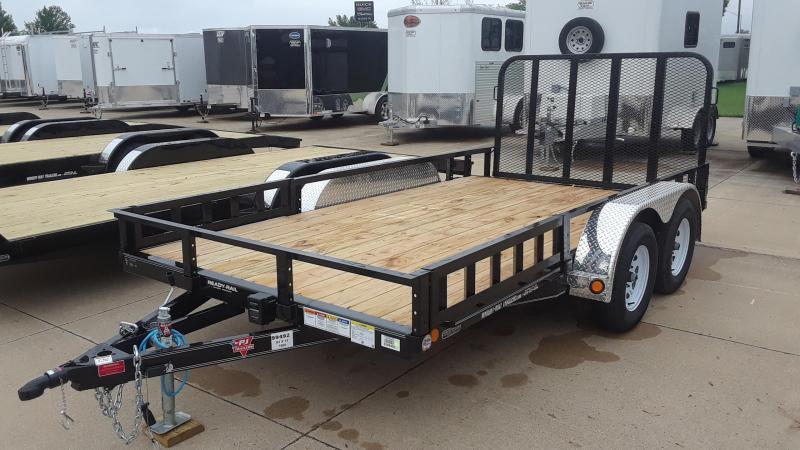 2020 PJ 14' Tandem Axle Utility Trailer