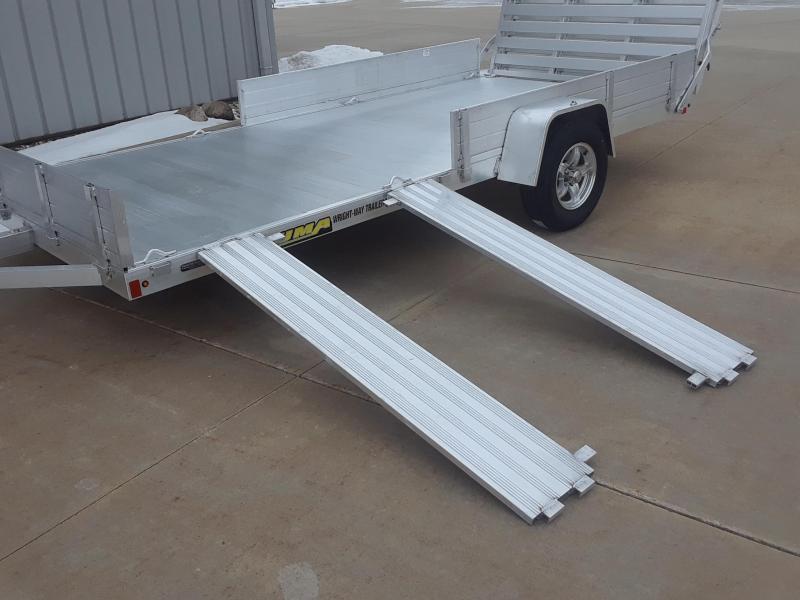 2020 Aluma 8114 Aluminum Utility Trailer
