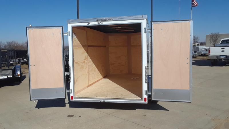 2019 United 6X12 V Nose Enclosed Cargo Trailer