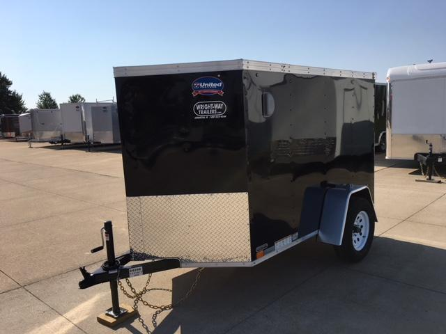 2019 United Trailers 5 x 8 Enclosed Cargo Trailer