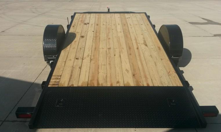 PJ T1 81 X 16 Single Axle HD Tilt