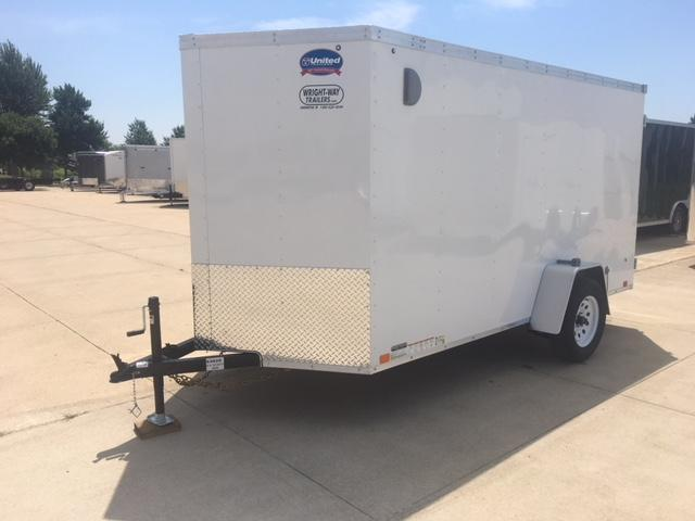 2019 United XLV 6 x 12 Enclosed Cargo Trailer