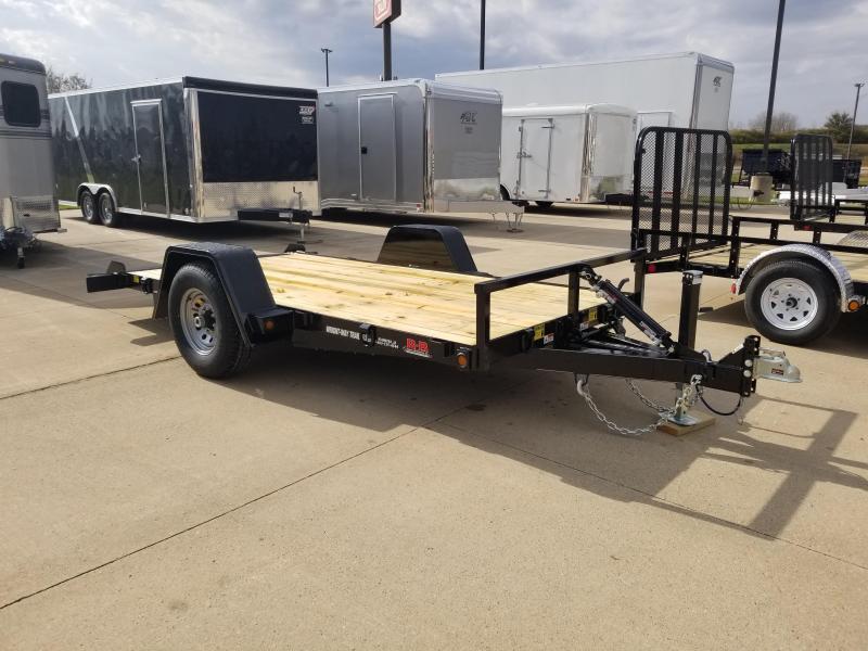 2019 B-B 6X12 Tilt Equipment Trailer