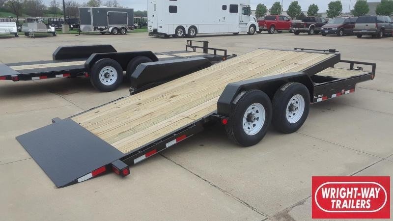 2020 PJ 20' Tilt Equipment Trailer