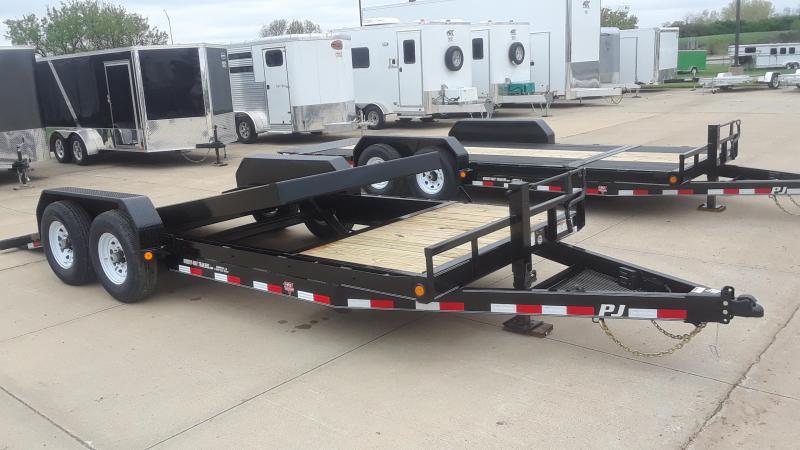 2020 PJ 20' Tilt Equipment Trailer