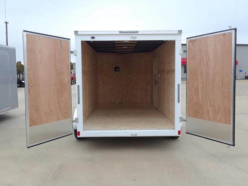 2019 Bravo Trailers 7X12 V-Nose Enclosed Cargo Trailer