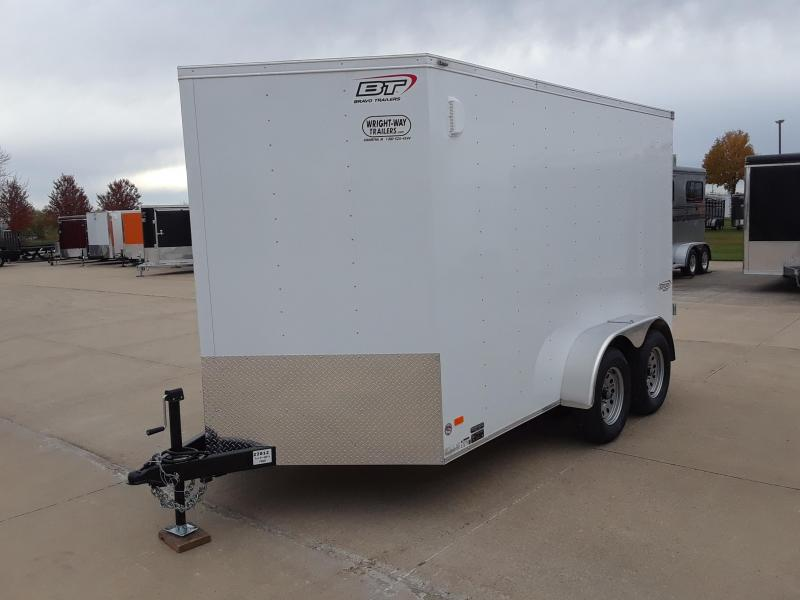 2019 Bravo Trailers 7X12 V-Nose Enclosed Cargo Trailer