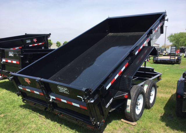 PJ 83 X 14 Low Pro Dump Trailer