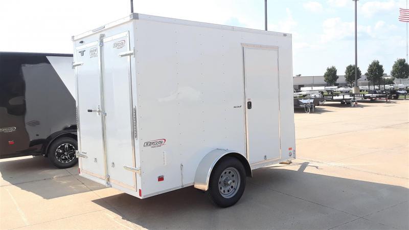 2020 Bravo 6X10 Enclosed Cargo Trailer