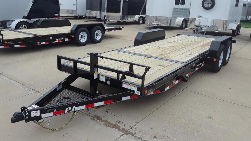 2020 PJ 22' Tilt Equipment Trailer