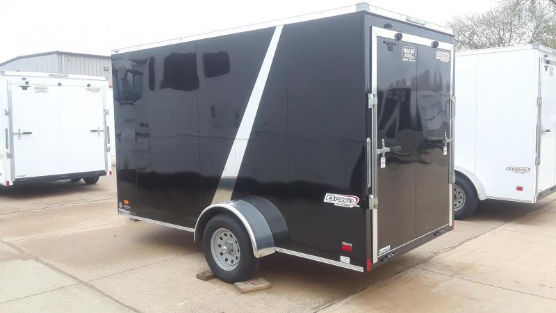 2020 Bravo 6X12 Enclosed Cargo Trailer